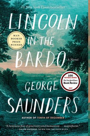 Lincoln in the Bardo book cover