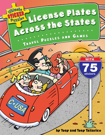 Ultimate Sticker Puzzles: License Plates Across the States