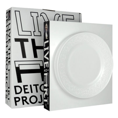 Live the Art - Written by Jeffrey Deitch, Designed by Stefan Sagmeister
