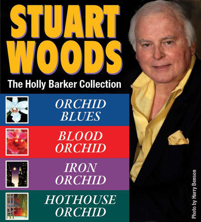 Stuart Woods HOLLY BARKER Collection book cover