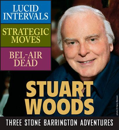 Stuart Woods: Three Stone Barrington Adventures book cover