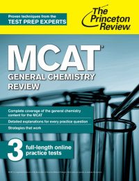 Book cover for MCAT General Chemistry Review