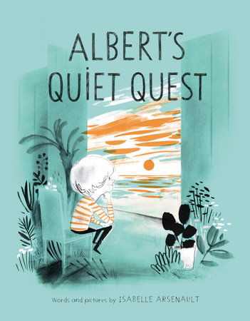 Cover image for Albert's Quiet Quest