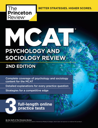 MCAT Psychology and Sociology Review, 2nd Edition