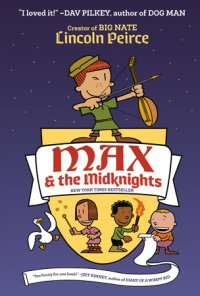 Book cover for Max and the Midknights