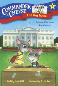 Book cover for Commander in Cheese #1: The Big Move