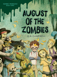 Book cover for August of the Zombies