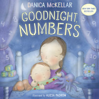 Book cover for Goodnight, Numbers