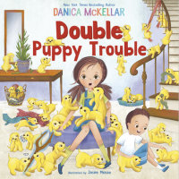 Book cover for Double Puppy Trouble