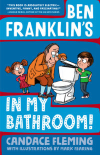 Book cover for Ben Franklin\'s in My Bathroom!