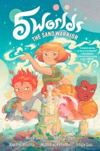 Cover of 5 Worlds Book 1: The Sand Warrior cover