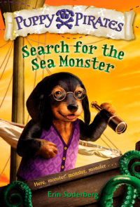 Book cover for Puppy Pirates #5: Search for the Sea Monster