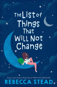 Book cover for The List of Things That Will Not Change