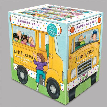 Junie B. Jones Books in a Bus