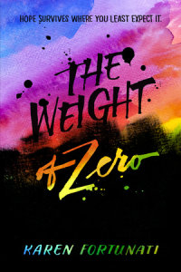Cover of The Weight of Zero cover