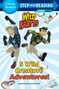 Book cover for 5 Wild Creature Adventures! (Wild Kratts)