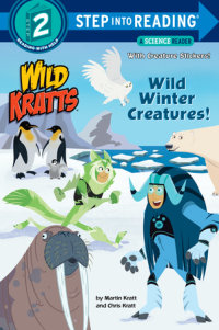 Book cover for Wild Winter Creatures! (Wild Kratts)