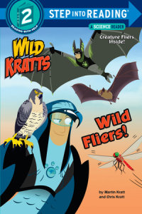 Book cover for Wild Fliers! (Wild Kratts)
