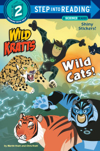 Book cover for Wild Cats! (Wild Kratts)