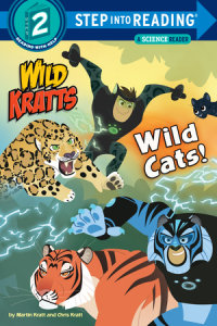 Cover of Wild Cats! (Wild Kratts) cover