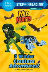 Book cover for 5 Wilder Creature Adventures (Wild Kratts)