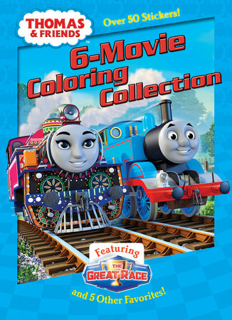 Thomas & Friends 6-Movie Coloring Collection (Thomas & Friends)