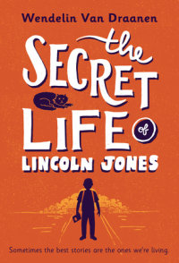 Book cover for The Secret Life of Lincoln Jones