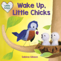 Book cover for Wake Up, Little Chicks! (Little Loves)