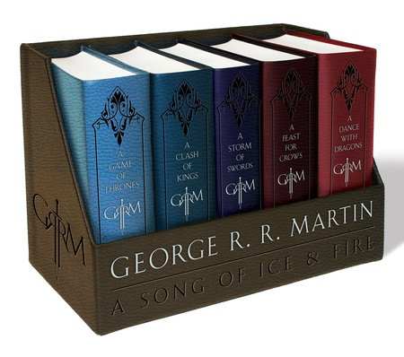 George R. R. Martin's A Game of Thrones Leather-Cloth Boxed Set (Song of Ice andFire Series)