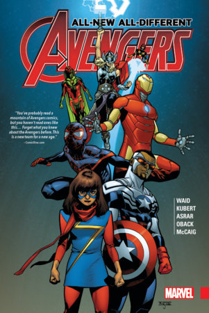 ALL-NEW, ALL-DIFFERENT AVENGERS HC