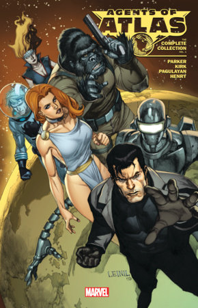 AGENTS OF ATLAS: THE COMPLETE COLLECTION VOL. 1 TPB