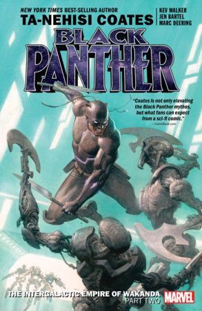 BLACK PANTHER BOOK 7: THE INTERGALACTIC EMPIRE OF WAKANDA PART TWO TPB