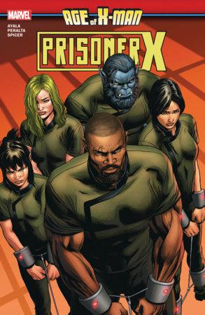 AGE OF X-MAN: PRISONER X TPB