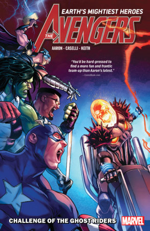 AVENGERS BY JASON AARON VOL. 5: CHALLENGE OF THE GHOST RIDERS TPB