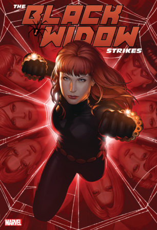 THE BLACK WIDOW STRIKES OMNIBUS HC CHRISTOPHER COVER