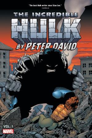 INCREDIBLE HULK BY PETER DAVID OMNIBUS VOL. 1 HC GEIGER COVER