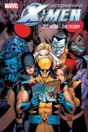 ASTONISHING X-MEN BY WHEDON & CASSADAY OMNIBUS HC CASSADAY SAGA COVER [NEW PRINT ING, DM ONLY]