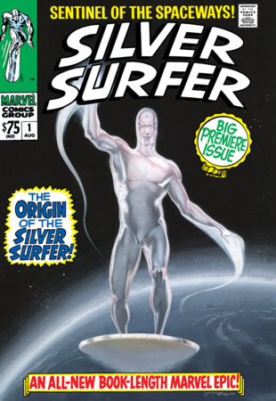SILVER SURFER OMNIBUS VOL. 1 HC RIBIC COVER [NEW PRINTING, DM ONLY]