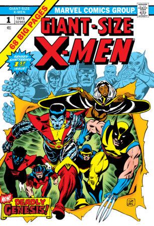 THE UNCANNY X-MEN OMNIBUS VOL. 1 HC KANE COVER [NEW PRINTING 3]