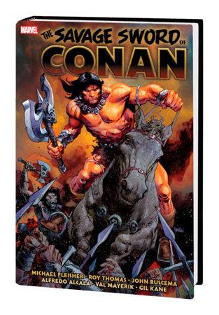 SAVAGE SWORD OF CONAN: THE ORIGINAL MARVEL YEARS OMNIBUS VOL. 6 HC PANOSIAN COVER