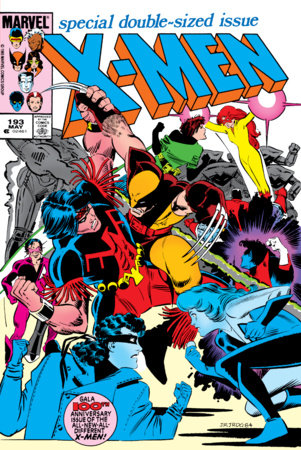 THE UNCANNY X-MEN OMNIBUS VOL. 4 HC ROMITA JR. COVER [DM ONLY]