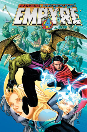 EMPYRE OMNIBUS HC CHEUNG HULKLING/WICCAN COVER [DM ONLY]