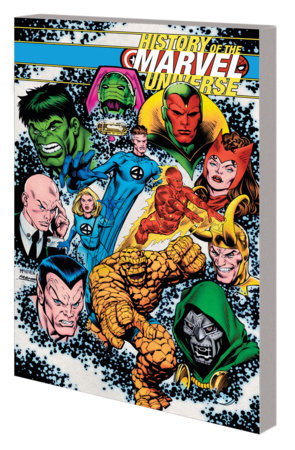 HISTORY OF THE MARVEL UNIVERSE TPB MCNIVEN COVER