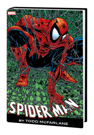 SPIDER-MAN BY TODD MCFARLANE OMNIBUS HC MCFARLANE RED-AND-BLUE COSTUME COVER [NE W PRINTING]