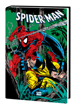 SPIDER-MAN BY TODD MCFARLANE OMNIBUS HC MCFARLANE WOLVERINE COVER [NEW PRINTING,  DM ONLY]