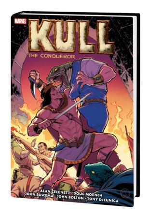 KULL THE CONQUEROR: THE ORIGINAL MARVEL YEARS OMNIBUS HC LOPEZ COVER