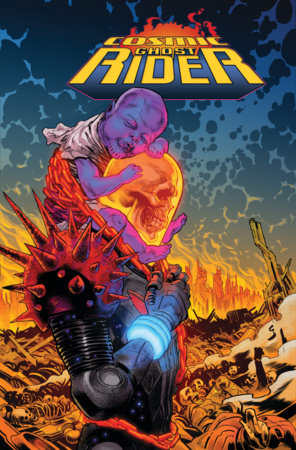 COSMIC GHOST RIDER OMNIBUS VOL. 1 HC SHAW COVER [DM ONLY]