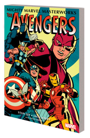 MIGHTY MARVEL MASTERWORKS: THE AVENGERS VOL. 1  - THE COMING OF THE AVENGERS GN- TPB MICHAEL CHO COVER