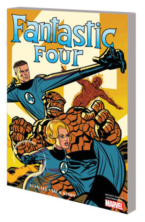 MIGHTY MARVEL MASTERWORKS: THE FANTASTIC FOUR VOL. 1 - THE WORLD'S GREATEST HEROES GN-TPB MICHAEL CHO COVER
