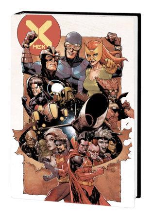 X-MEN BY JONATHAN HICKMAN OMNIBUS HC YU COVER